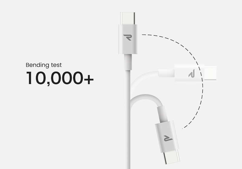 Rampow USB-C lightning USB Type-Cは耐久性が高いライトニングケーブル